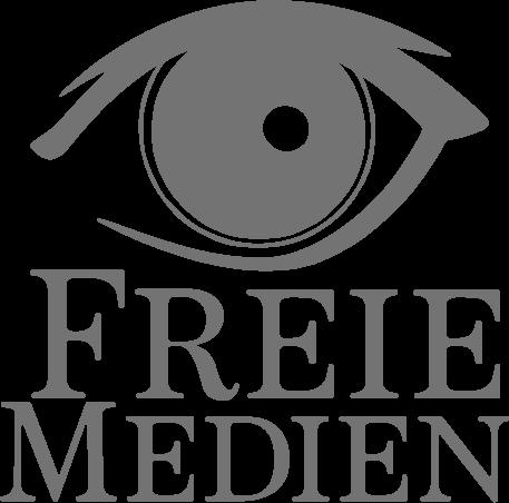 Logo Freie Medien grau